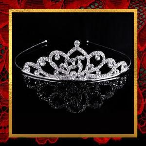 NWOT Rhinestone Tiara Crown  #HAIR-020